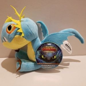 How to train your dragon plush Cinemark Exclusive